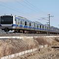 水戸線 E531系K459編成 742M 普通 小山 行