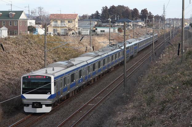 常磐線 E531系K414編成 1129M 普通 勝田 行
