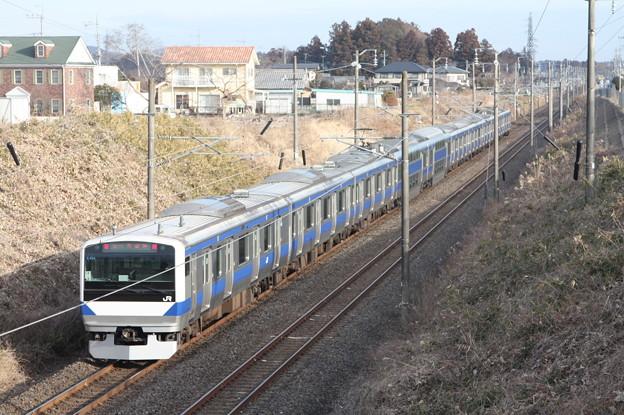 常磐線 E531系K404編成 331M 普通 勝田 行