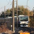 水戸線 E531系K466編成 756M 普通 小山 行