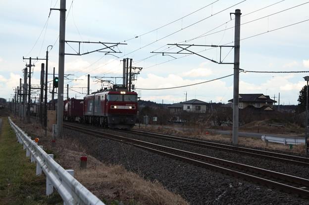 Photos: 2094レ EH500-34+コキ