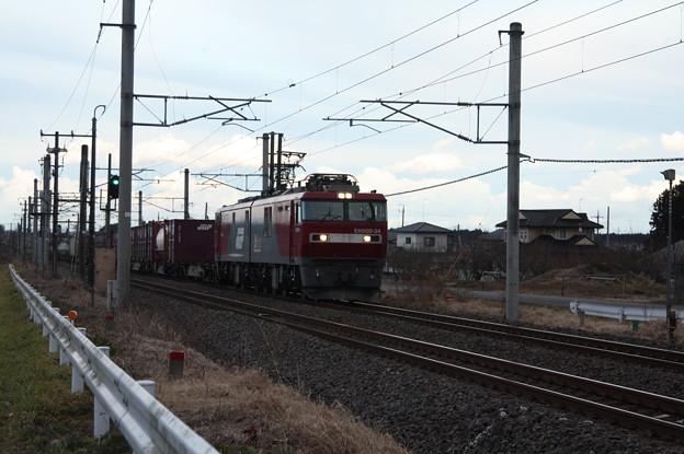 Photos: 2094レ EH500-34+コキ (4)