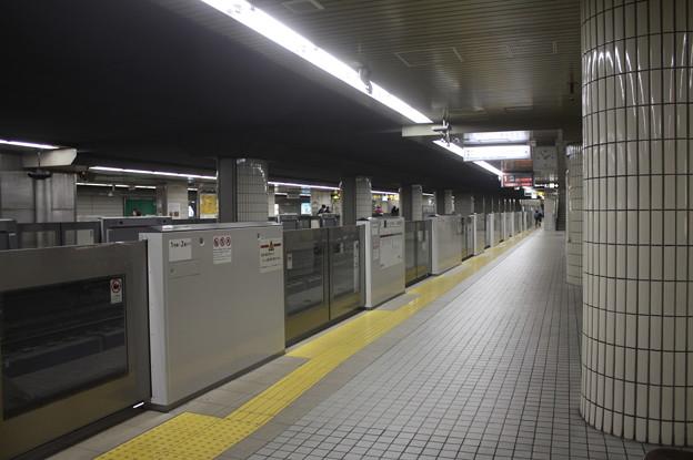 大阪市営地下鉄御堂筋線 天王寺駅1番線ホーム