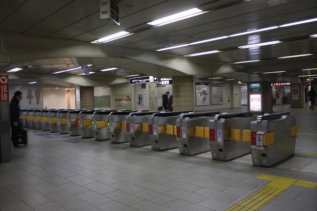 大阪市営地下鉄 天王寺駅 改札口