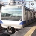 常磐線 E531系K424編成 323M 普通 高萩 行 2019.02.15
