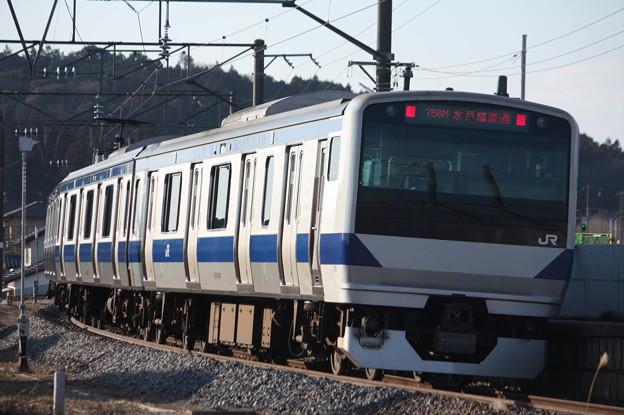 水戸線 E531系K471編成 756M 普通 小山 行 後追い