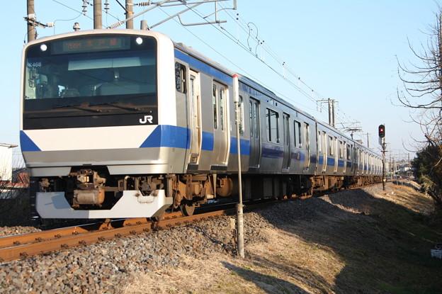 水戸線 E531系K468編成 758M 普通 小山 行 (2)