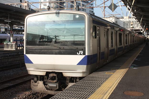 常磐線 E531系K426編成 323M 普通 高萩 行 2019.02.27