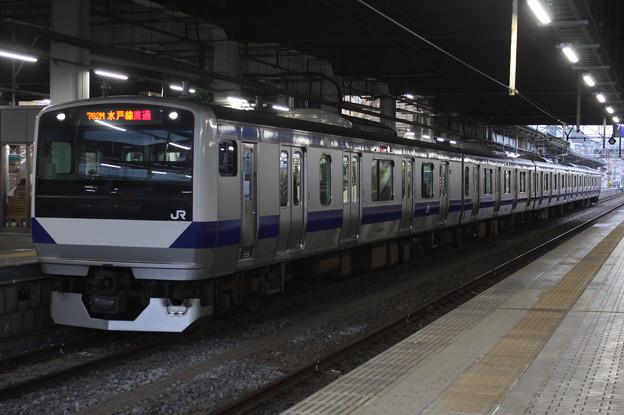 水戸線 E531系K477編成 762M 普通 小山 行 2019.02.27