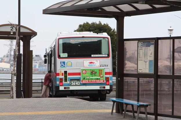 京浜急行バス E3264号車 後部