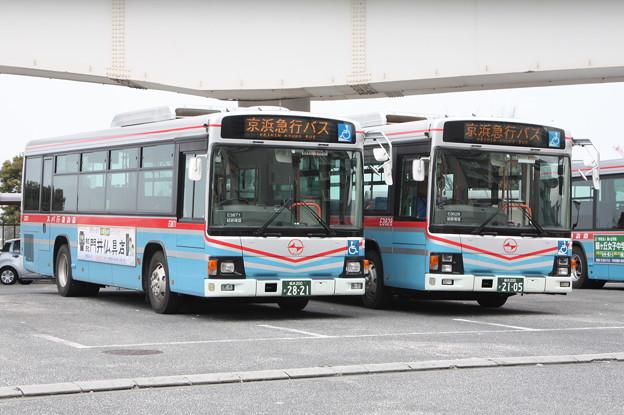 京浜急行バス E3871号車・E3628号車
