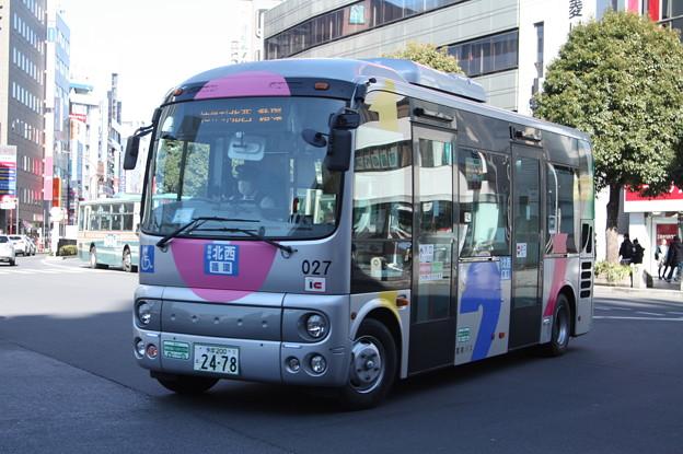 関東バス ムーバス 027号車 吉祥寺 北西循環