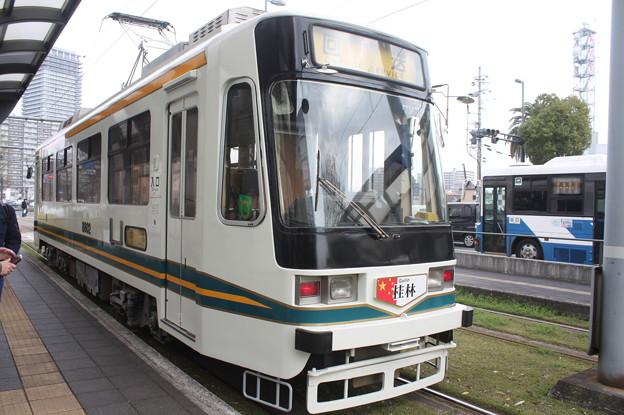 熊本市電 8800形8802号