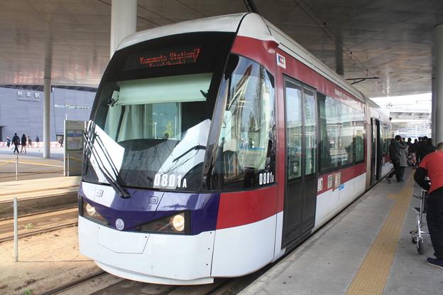 熊本市電 800形801号 (2)
