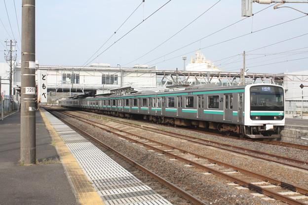 常磐線 E501系K704編成 533M 普通 いわき 行 2019.04.21 (1)