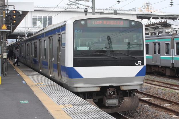 常磐線 E531系K421編成 1148M 普通 品川 行 2019.04.21