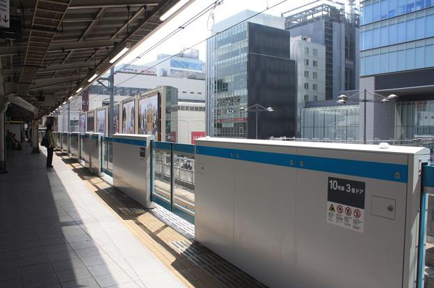 京浜東北線 秋葉原駅1番線 ホームドア