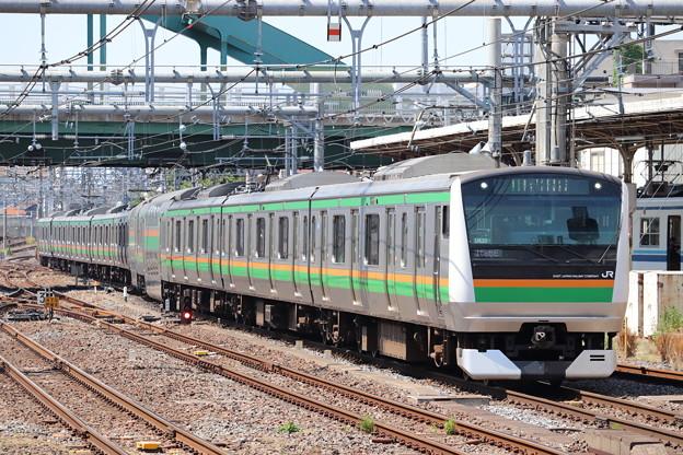宇都宮線 E233系3000番台U620編成 (1)