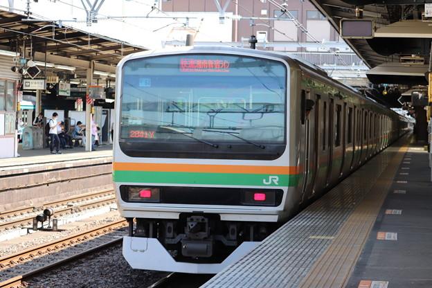 高崎線 E231系1000番台U64編成