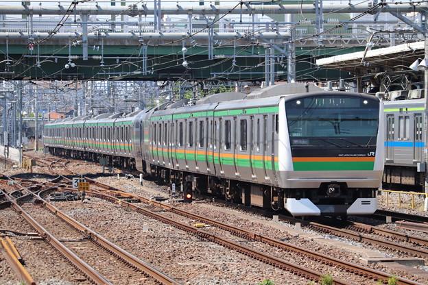 宇都宮線 E233系3000番台U623編成