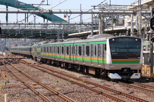 宇都宮線 E233系3000番台U623編成 (1)