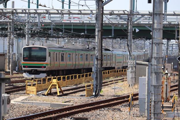 宇都宮線 E231系1000番台K-16編成