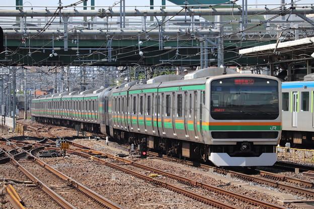 宇都宮線 E231系1000番台U534編成