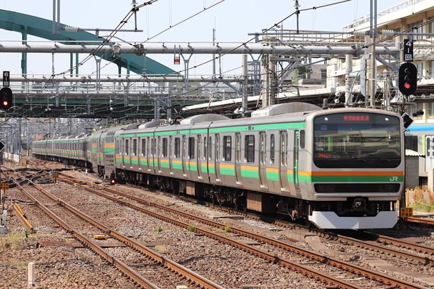 宇都宮線 E231系1000番台U534編成 (1)