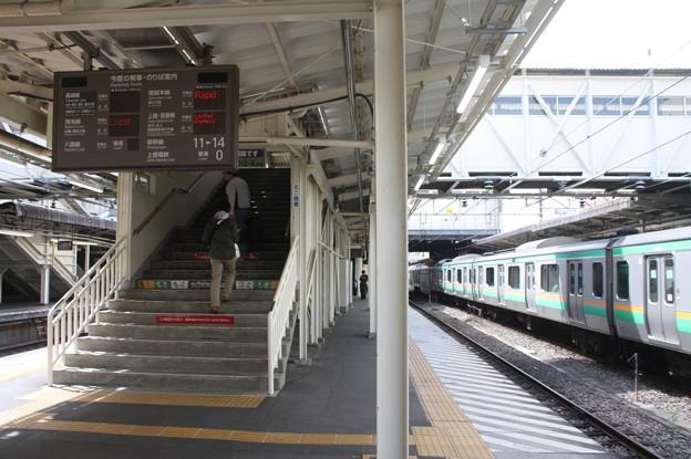 高崎駅5番線・6番線ホーム