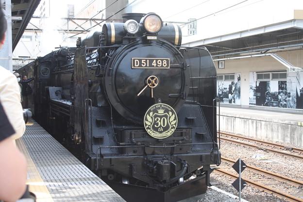 信越本線 SLレトロぐんまよこかわ 9135レ D51 498 (2)
