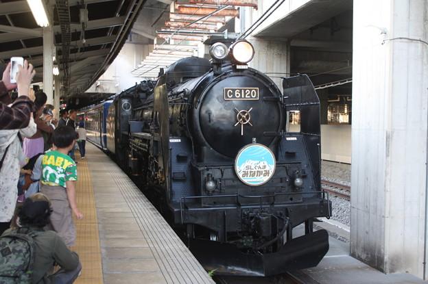 C61 20 SLぐんまみなかみ @高崎駅 (2)