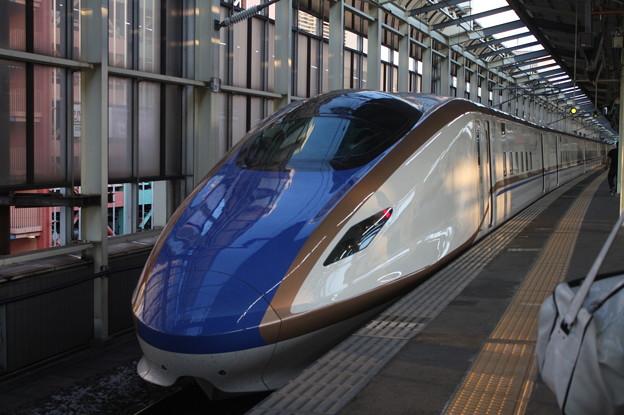 北陸新幹線 E7系F3編成 (1)