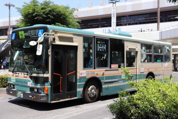 西武バス A1-599 大25系統 佐知川原 行き