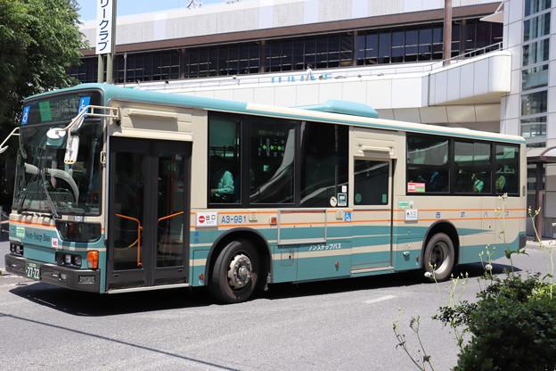 西武バス A3-981 大35系統 ららぽーと富士見 行き