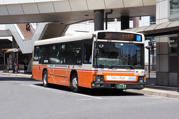 東武バス 9788号車 大61系統 日進公園 経由 三進自動車 行き