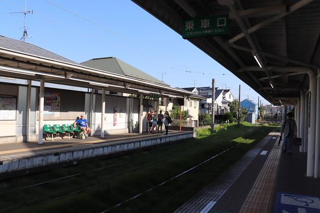 東急世田谷線 宮の坂駅 ホーム