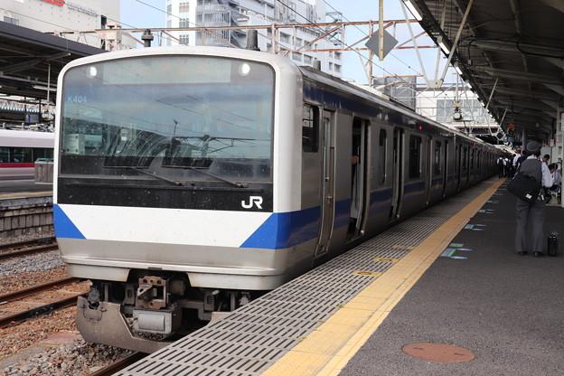 常磐線 E531系K404編成 323M 普通 高萩 行 2019.06.03