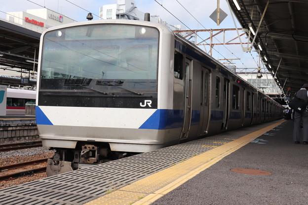 常磐線 E531系K404編成 323M 普通 高萩 行 2019.06.03 (1)