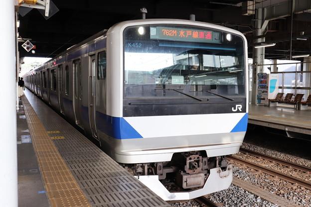 水戸線 E531系K452編成 762M 普通 小山 行 2019.06.03