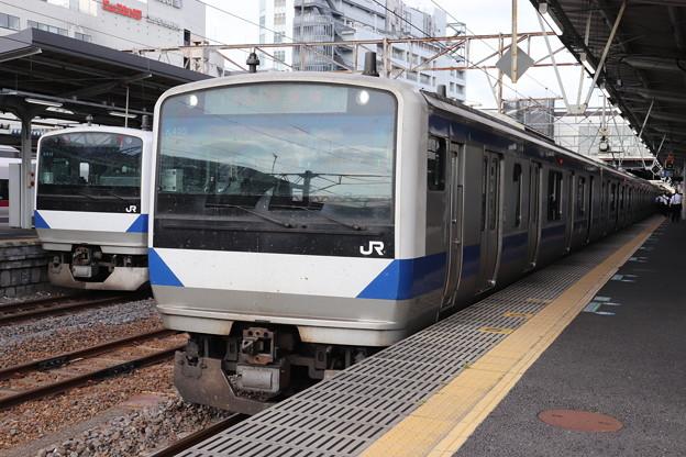 常磐線 E531系K405編成 323M 普通 高萩 行 2019.06.04