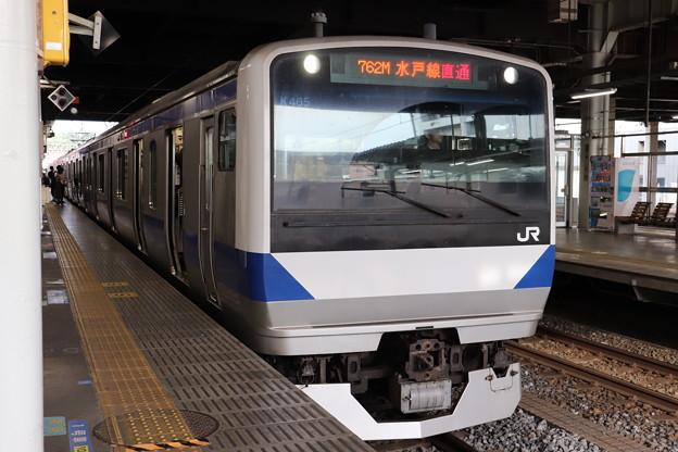 水戸線 E531系K465編成 762M 普通 小山 行 2019.06.04