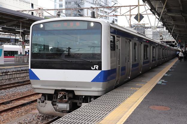 常磐線 E531系K416編成 323M 普通 高萩 行 2019.06.05