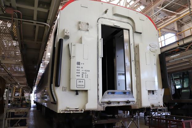 Photos: 入場中のE259系中間車