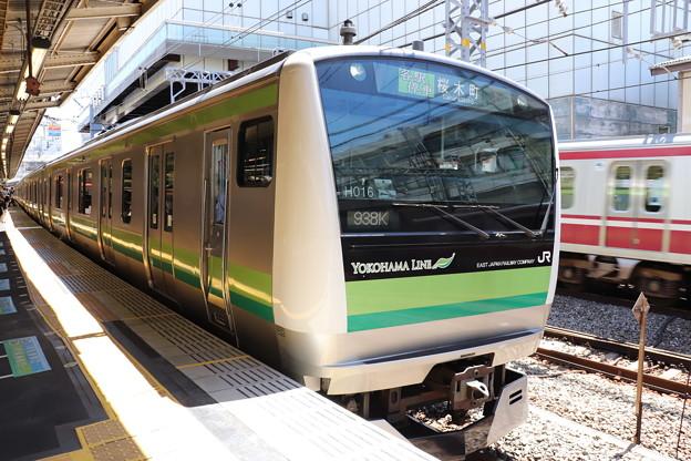 横浜線 E233系6000番台クラH016編成 (1)