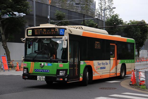 都営バス 新型エルガ A-B709