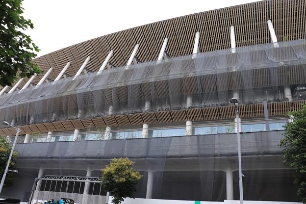 建設中の新国立競技場 (1)