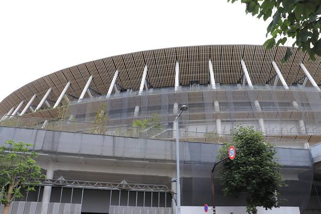 建設中の新国立競技場 (2)