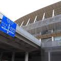 建設中の新国立競技場 (3)
