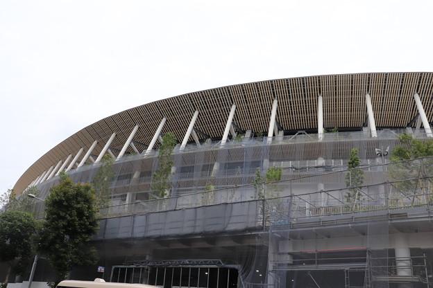 建設中の新国立競技場 (5)
