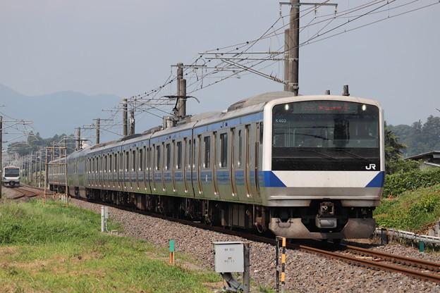 常磐線 E531系K403編成 1135M 普通 勝田 行 2019.08.03